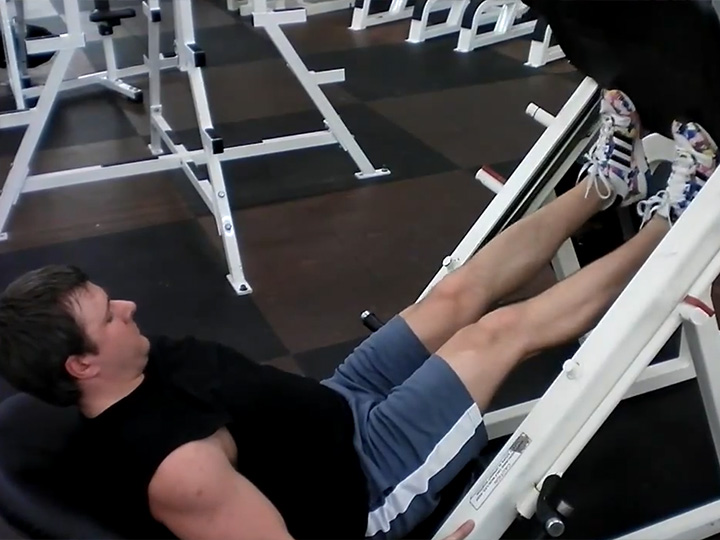 Calf Raises (Machine: Leg Press) Image