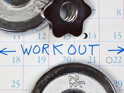 The Best Time to Work Out Image