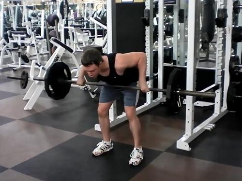 Bent-Over Rows (Barbell) Image