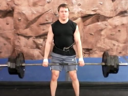 Deadlifts Barbell Image