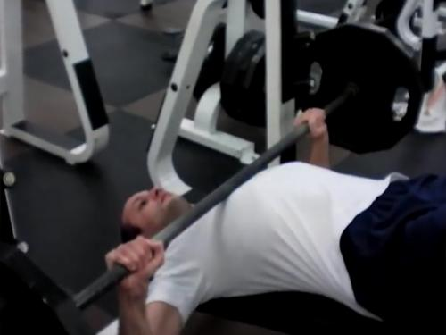 Decline Bench Press (Barbell) Image