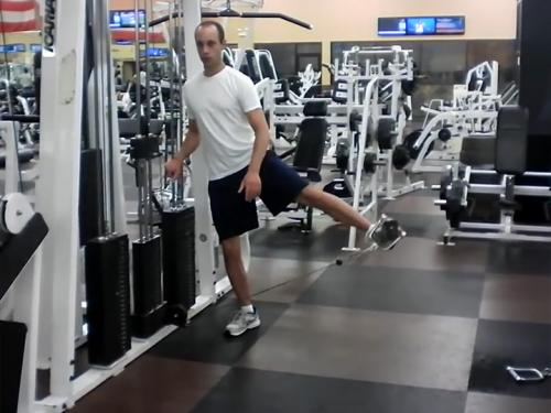 Hip Abductions (Cable) Image
