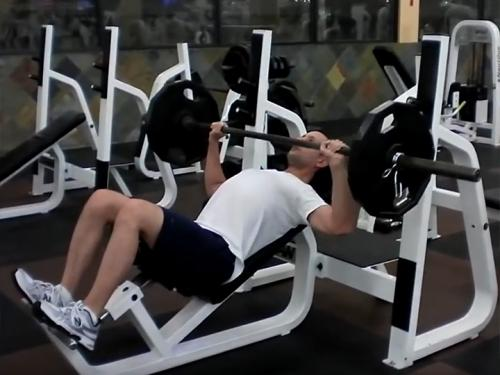 Incline Bench Press (Barbell) Image