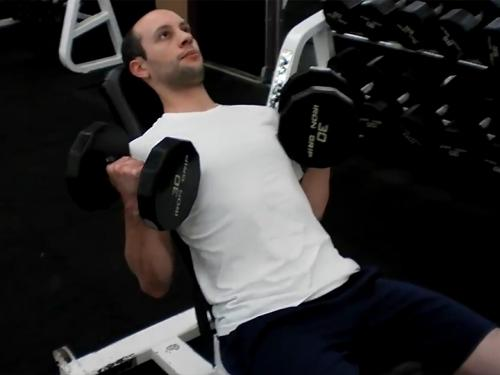 Incline Curls (Dumbbell) Image