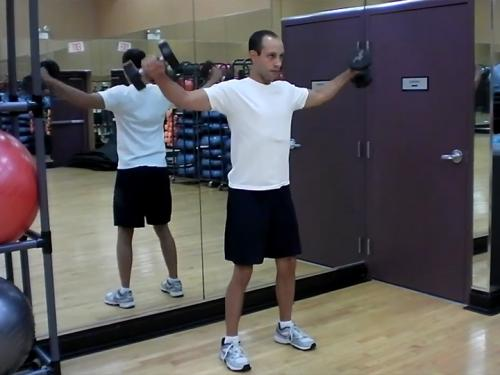 Lateral Raises Dumbbell Image