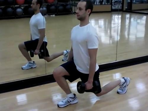 Lunges (Dumbbell) Image