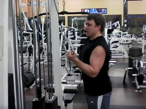 One-Arm Reverse Push-Downs (Cable) Image