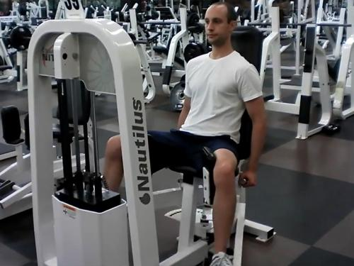 Seated Adductions (Machine) Image