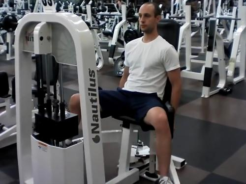 Seated Hip Abductions (Machine) Image