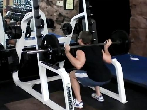 Squats (Barbell) Image