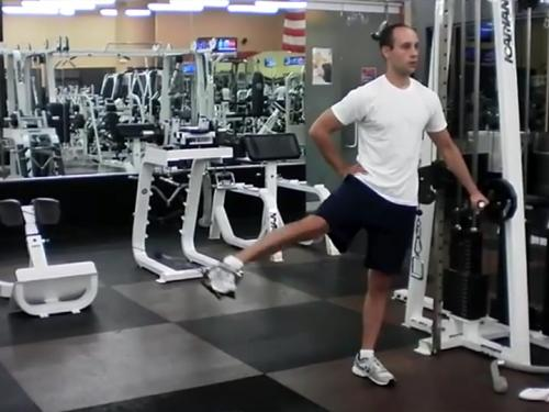Standing Hip Adductions (Cable) Image
