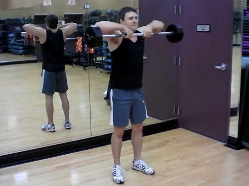 Upright Rows (Barbell) Image