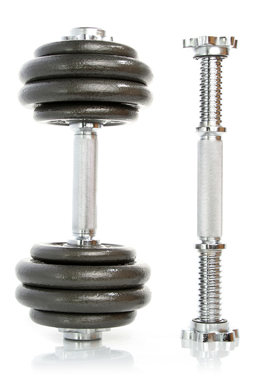 Adjustable Weight Dumbbells Image