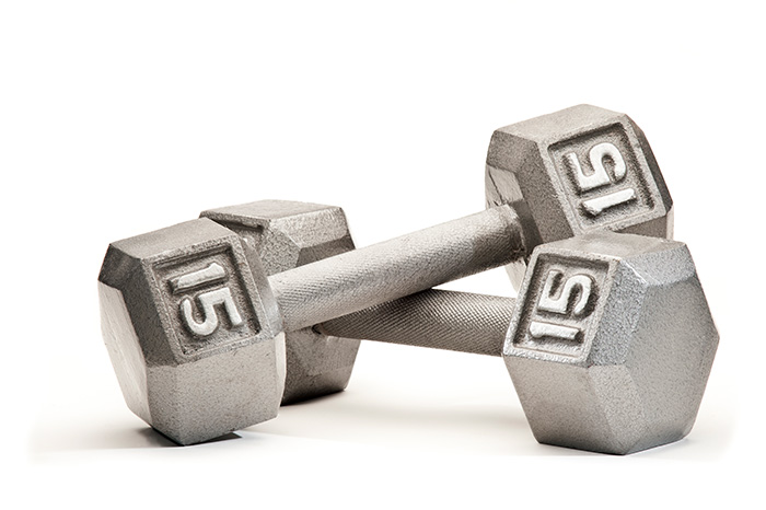 Fixed Weight Dumbbells Image